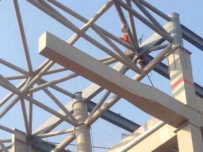 钢结构防火涂料案例
